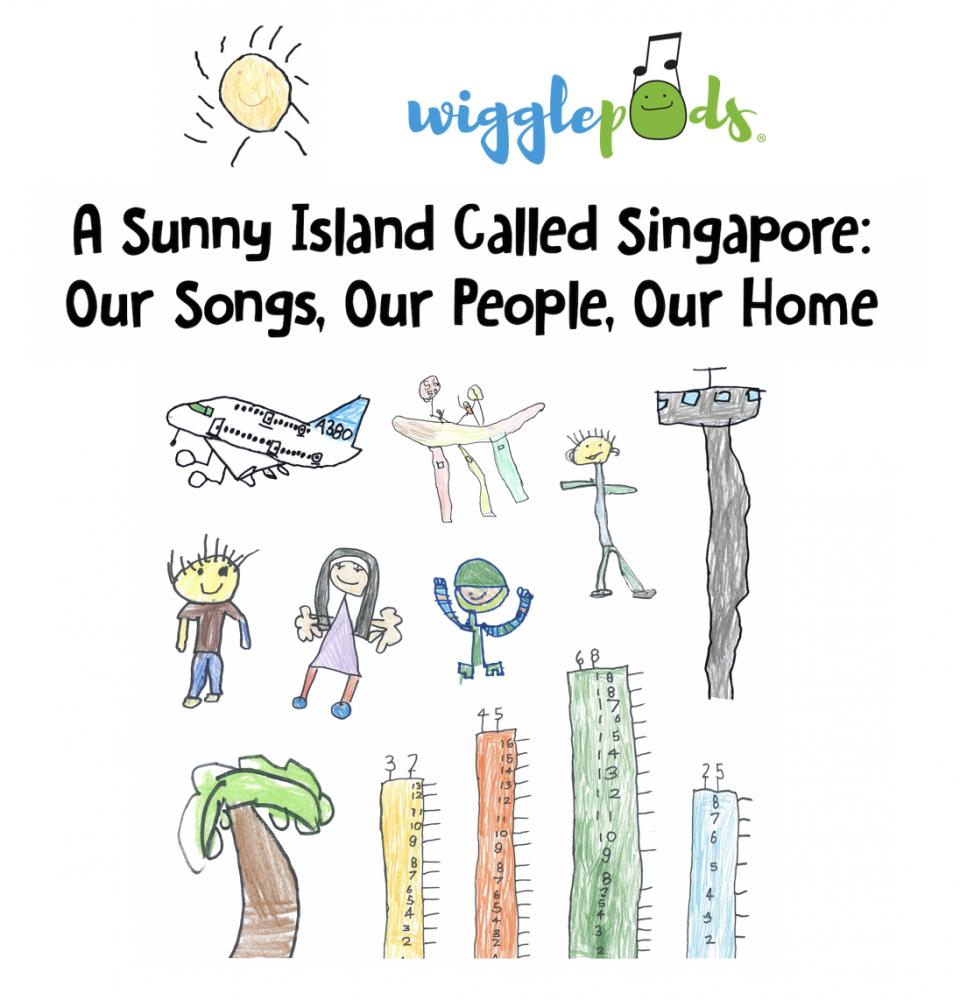 A Sunny Island Called Singapore Album Cover