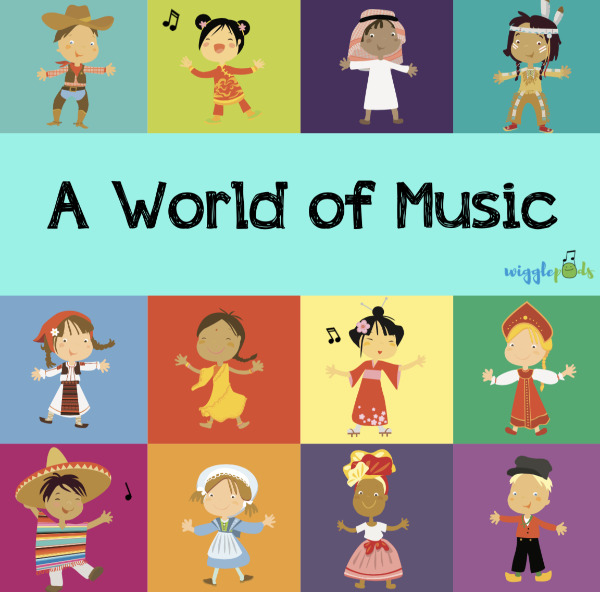 A World of Music Album Cover