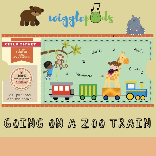 Going on a Zoo Train Album Cover