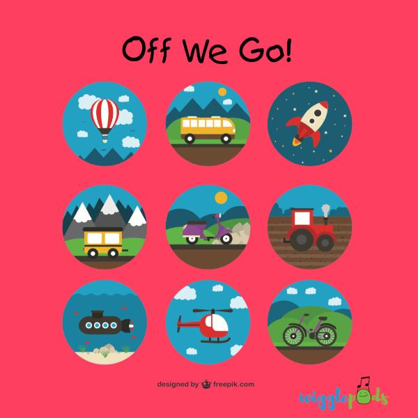 Off We Go Album Cover