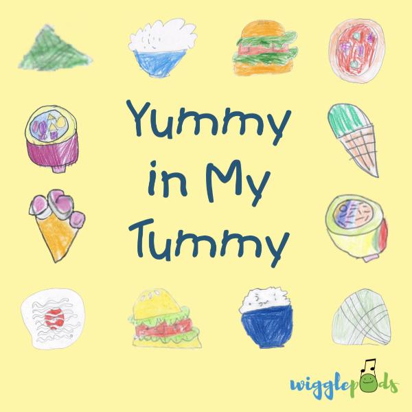 Yummy in My Tummy Album Cover