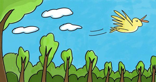And Away He Flew! (Kindergarten)